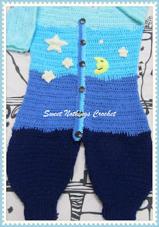 crochet sleep sack