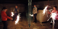bonfire night sparklers