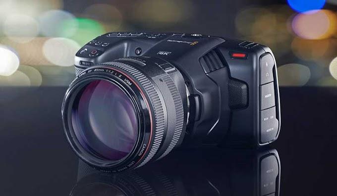 SORTEIO - CONCORRA A UMA: Câmera Blackmagic Pocket Cinema 6K (no valor de R$ 14.00,00)