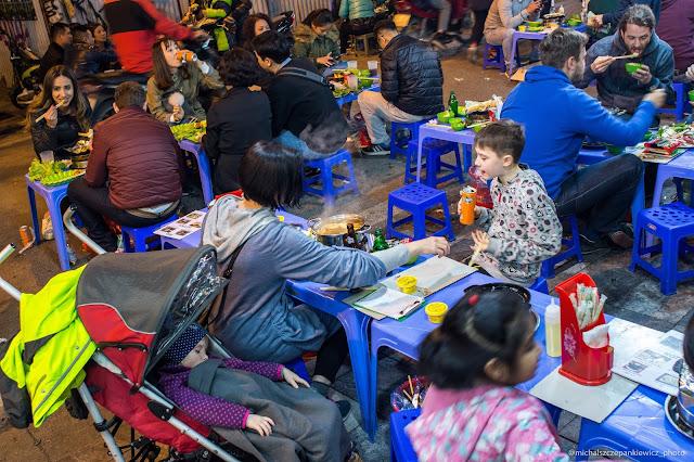 Wigilijna kolacja w Ho Chi MInh