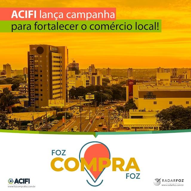 CAMPANHA PARA FORTALECER O COMÉRCIO LOCAL, É LANÇADA PELA ACIFI!