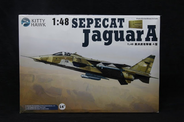 Sepecat Jaguar A Kitty Hawk 1/48