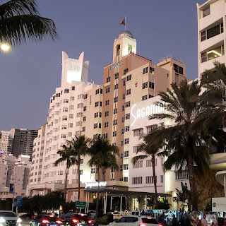 Visit Miami on a Budget: Enjoy the architecture along Collins Avenue in Miami Beach Florida