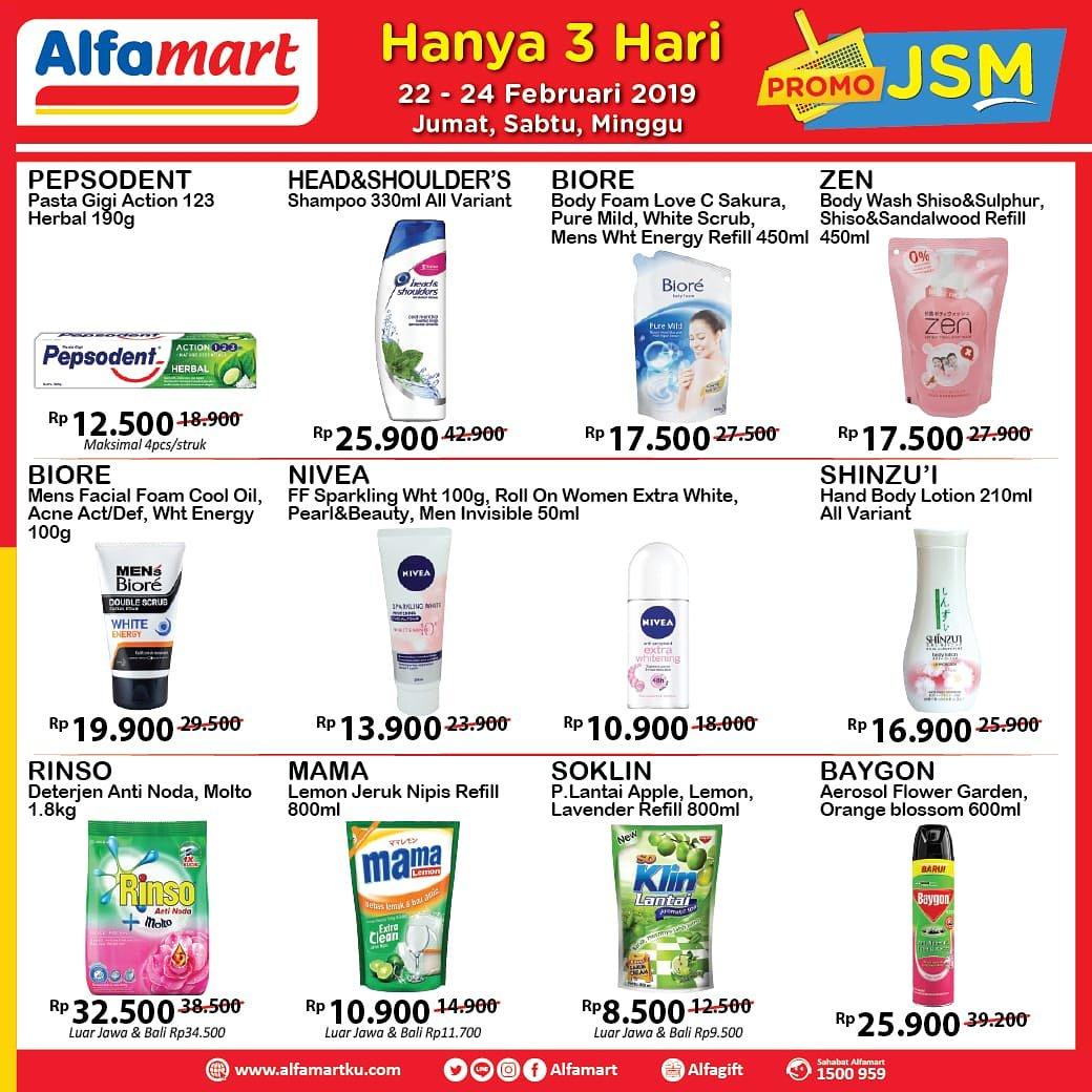 #Alfamart - #Promo #Katalog JSM Periode 22 - 24 Februari 2019