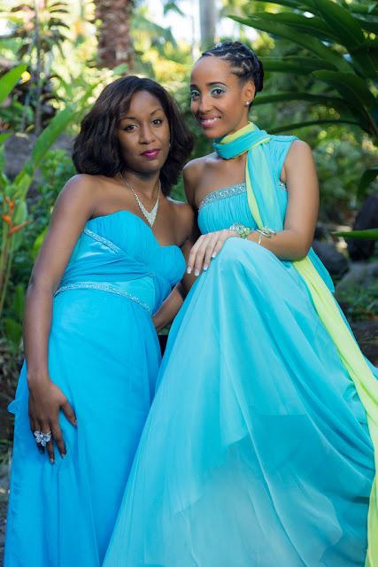 mariage-Guadeloupe-Bouillante-demoiselles d'honneur