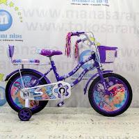 16 Lazaro 2205 sepeda anak perempuan