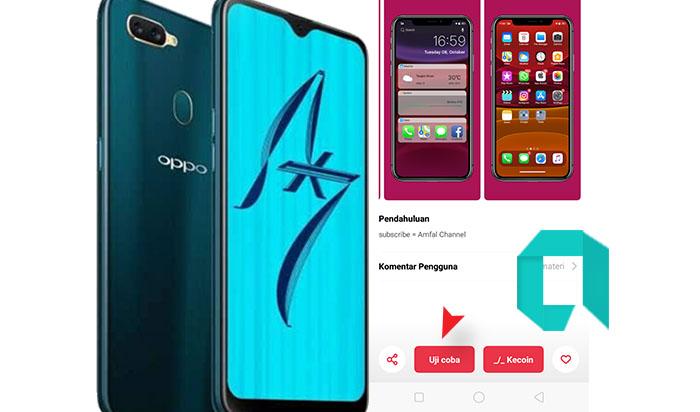 Tema Iphone 11 Pro Untuk HP OPPO A5s Keren Banget