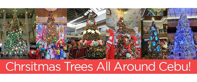 Christmas Trees All Around Cebu This Year, 2018!