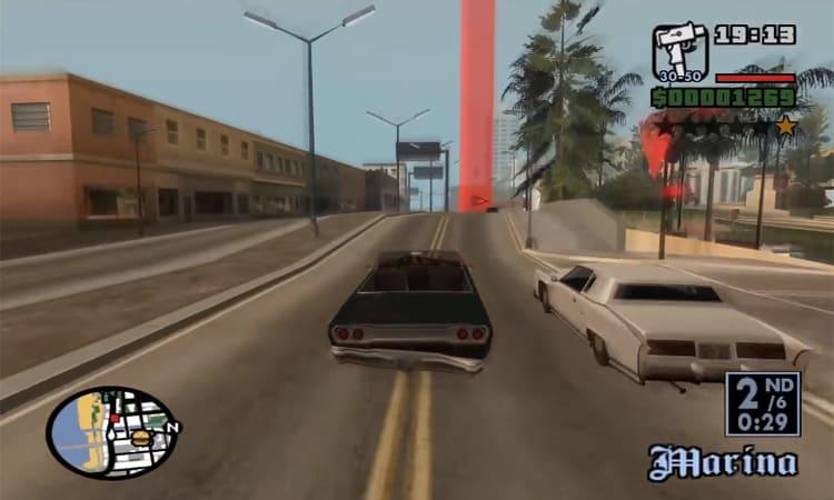 تحميل لعبة جاتا GTA للكمبيوتر ميديا فاير