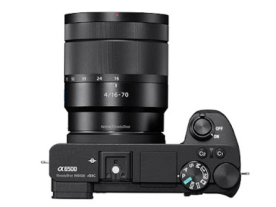 Sony Alpha A6500 nang cap chu khong thay the