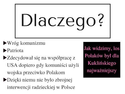 patriotyzm, wróg komunizmu, współpraca z USA, stan wojenny, dobro Polaków