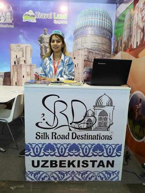 Fiera del Turismo di Rimini, stand dell'Uzbekistan