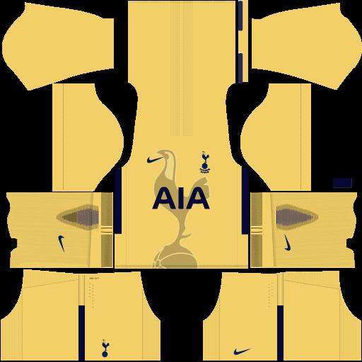 Kit Tottenham 2018 Dream League Soccer Jersey On Sale