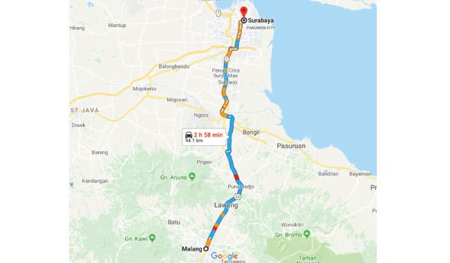 Malang Surabaya