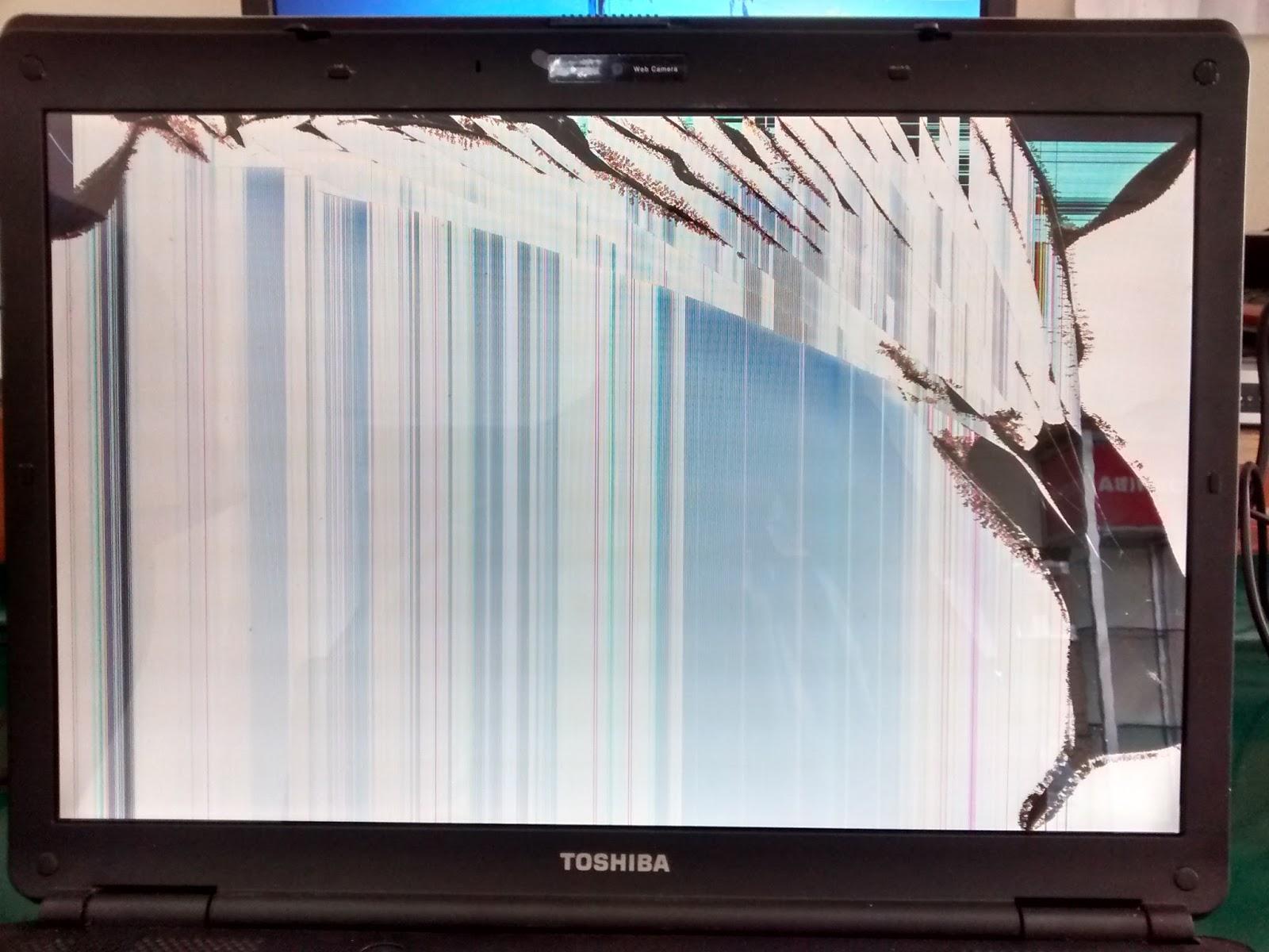 Beberapa Jenis Kerusakan Lcd Laptop Service Laptop Jogja