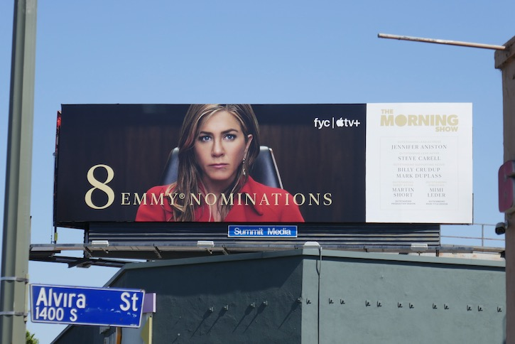 Jennifer Aniston Morning Show Emmy nominee billboard