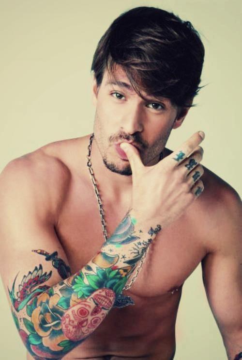 foto de tatuaje en antebrazo