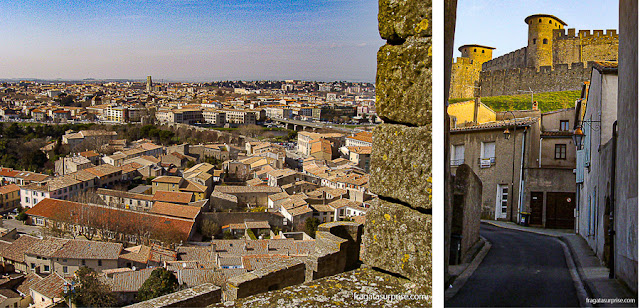 Muralhas medievais de Carcassonne, França