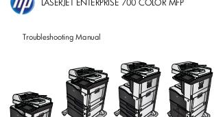 Manuales de Jvare: Manuales HP Color Laserjet Enterprise