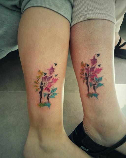 Tatuajes de madre e hija que te estan esperando
