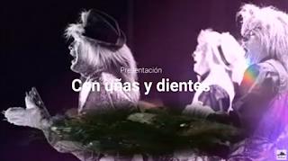 """Presentación con Letra Comparsa """"Con Uñas y Dientes"""" de Antonio Martínez Ares (1989)"""