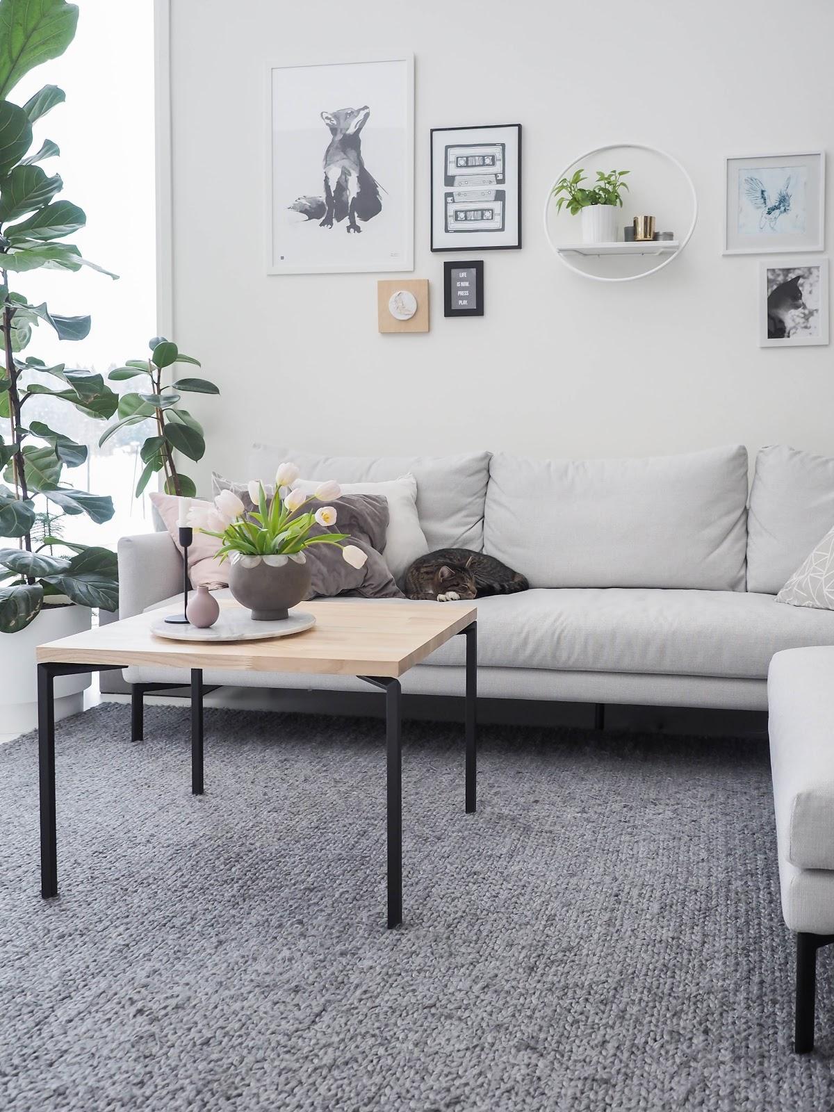 Olohuone, sohvapöytä, diy