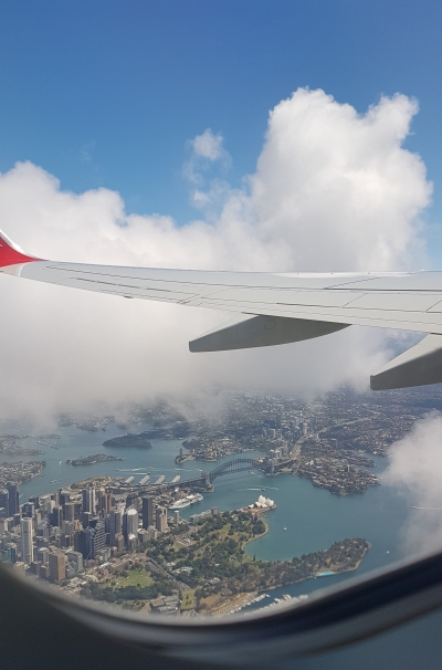 Flying with two toddlers Brisbane to Sydney | AwayFromTheBlue