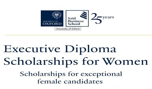 University of Oxford Executive Diploma Scholarships for Women 2022 (Up to £10,000)