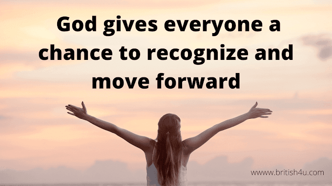 Motivation story -भगवान सब को एक मौका देता है पहचानो और आगे बढ़ो ! God gives everyone a chance to recognize and move forward