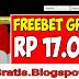 FREEBET GRATIS - Tanpa Deposit 17.000 Tanpa Ribet CMD398.COM