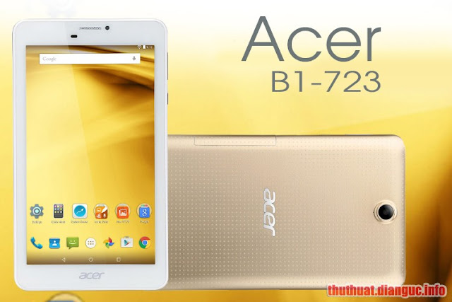 Rom stock cho Acer Iconia (B1-723)