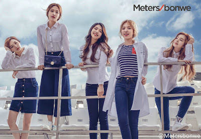 Red Velvet Metrobonwe Spring 2016