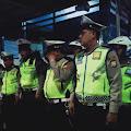 Sejumlah Personil Regu 3 Tim Urai Kemacetan Lantas Gowa Melaksanakan Apel di Pos 700