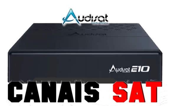 Audisat E10 (Lote 1 e 2) Nova Atualização V1.3.08 - 03/07/2019