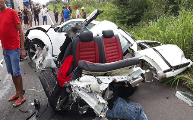 Acidente entre Altos e Campo Maior deixa dois mortos e um ferido