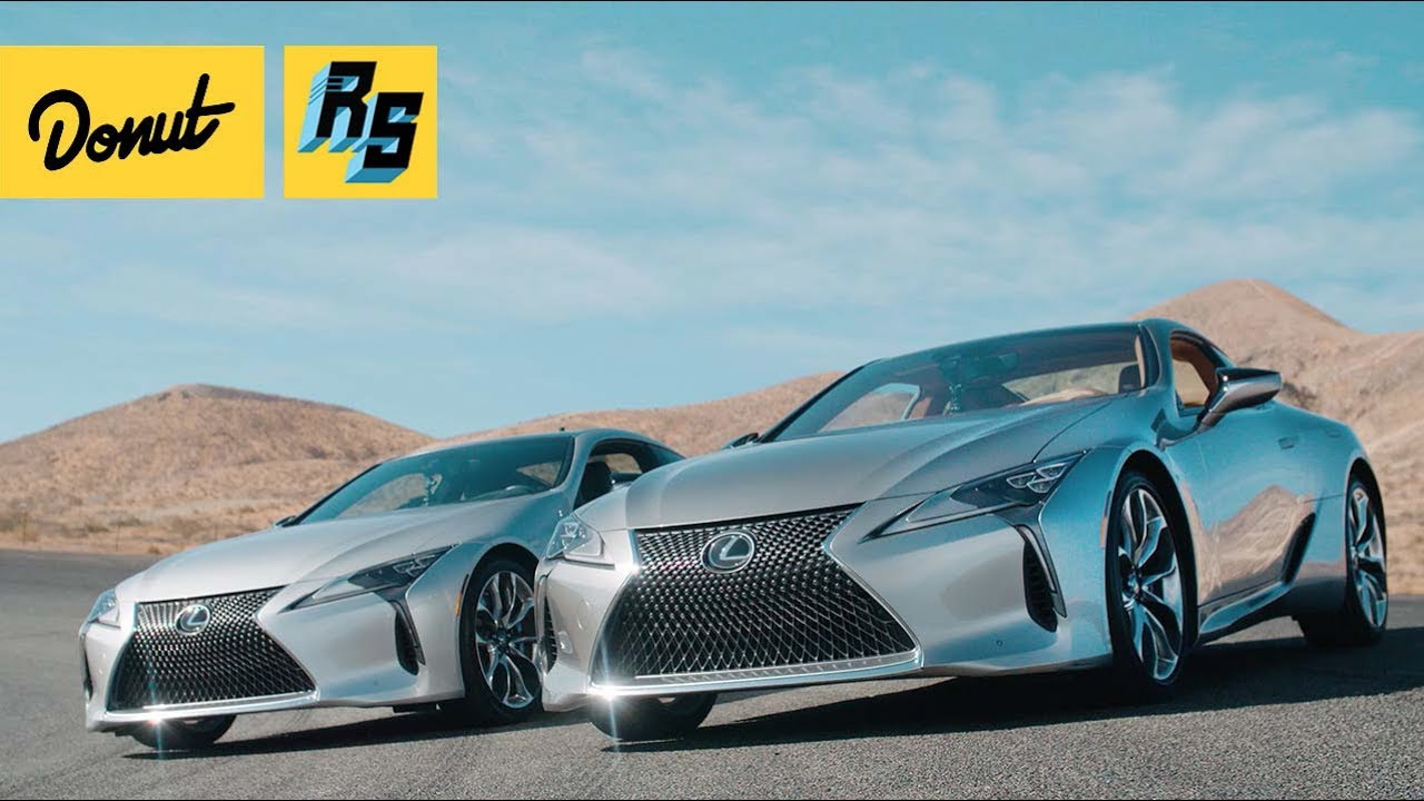 December To Remember With Lexus LC500 (4K) [Donut Media]