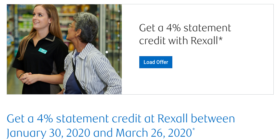February 21 Update: Receive a 4% statement credit on Rexall purchases with RBC Offers, Centurion Lounge in Charlotte opening on Monday & Air Transat 4 day seat sale to the U.S.