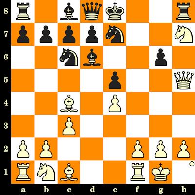 Les Blancs jouent et matent en 3 coups - Laura Moylan vs Safa Elnami, Turin, 2006