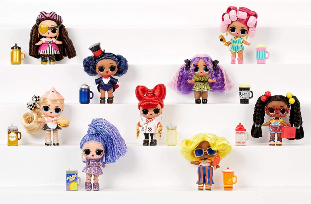 Имена кукол L.O.L. Surprise #Hairgoals сезон 2