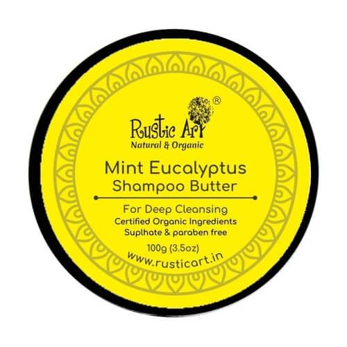 Rustic Art Mint Eucalyptus Shampoo Butter