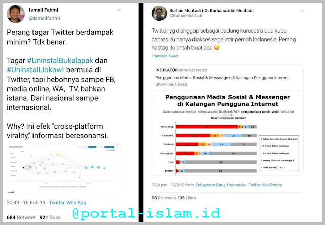 Pakar Sosmed Mentahkan Pernyataan Surveyor Burhan Muhtadi Terkait Efek Twitter