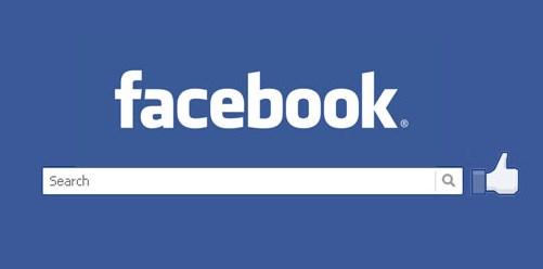 facebook login friends search
