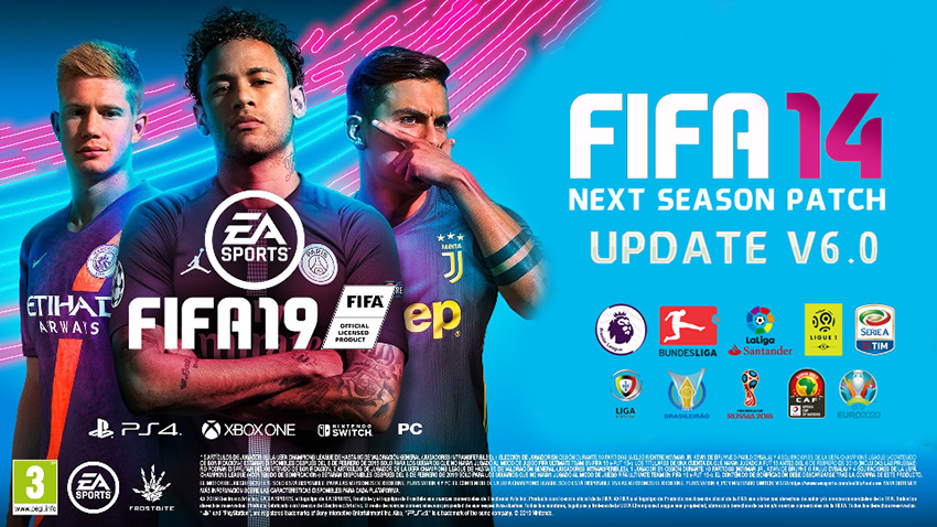 4f7d165c3fa FIFA 14 Next Season Patch 2019 Update v6.0 Season 2018 2019 ...