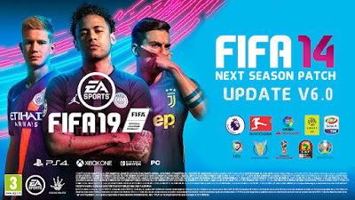FIFA 14 Next Season Patch 2019 Update v6.0 Season 2018/2019