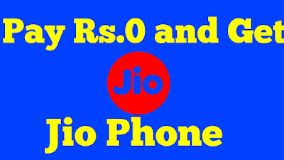 pay rs.0 and get jio phone