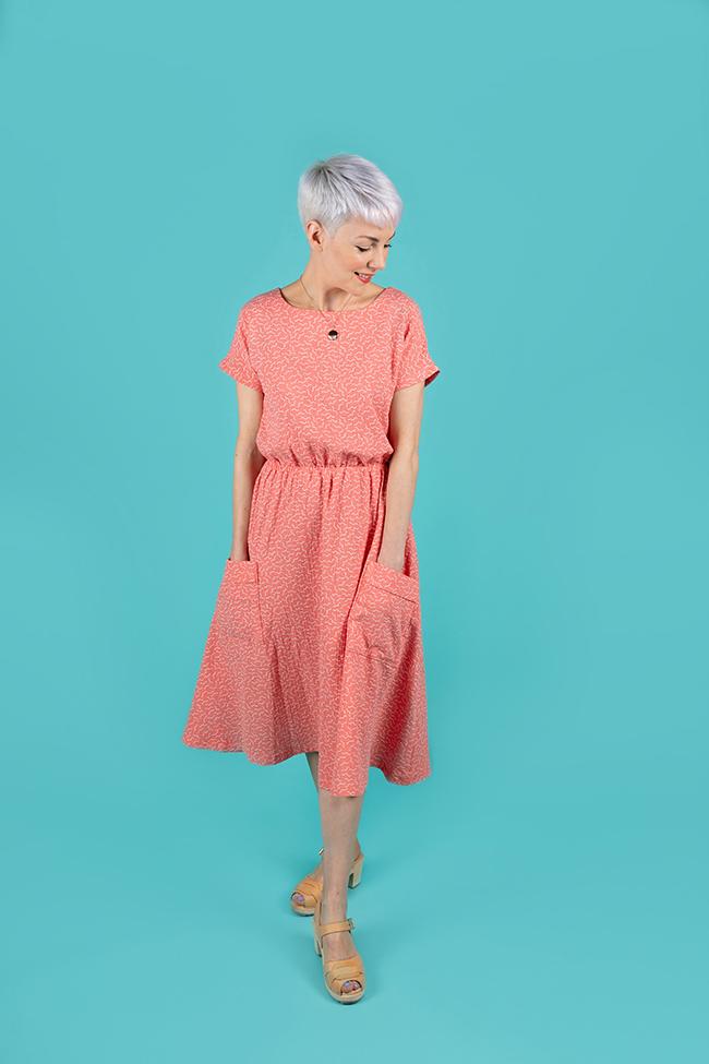 Lotta dress sewing pattern