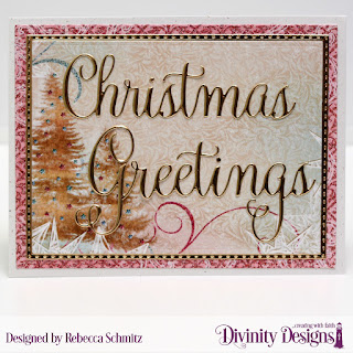 Paper Collection: Christmas 2014  Custom Dies: Christmas Greetings, Rectangles, Double Stitched Rectangles