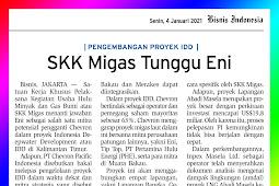 SKK Migas Wait for Eni
