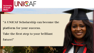 Apply for a UNICAF Scholarship to study with the University of South Wales, UK.