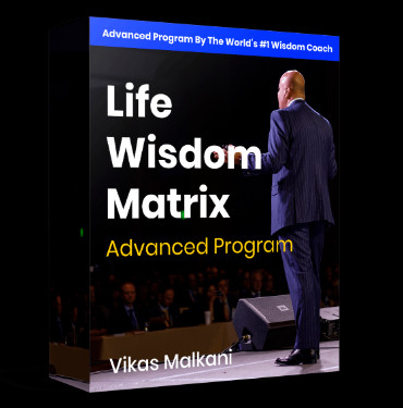 Life Wisdom Matrix Vikas Malkani COACHING program, Wisdom With Vikas reviews SCAM or legit?